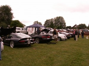 Vipers at Charity Father's Day Car Show